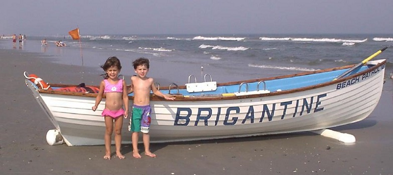 A Day At The Beach In Brigantine Nj
